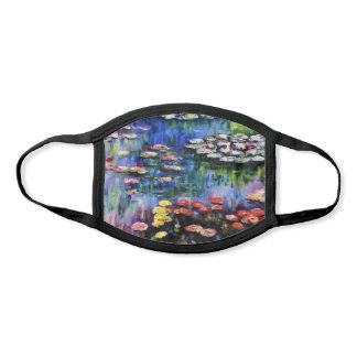Claude Monet Water Lilies 1916 Fine Art Face Mask