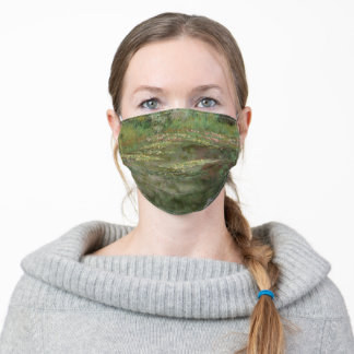 Claude Monet | Waterlilies or The Water Lily Pond Adult Cloth Face Mask