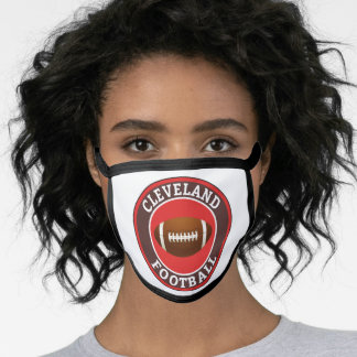Cleveland American Football College University Face Mask