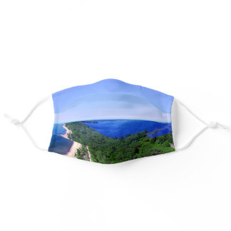 Cloth Face Mask w Filter Slot - Presque Isle Erie