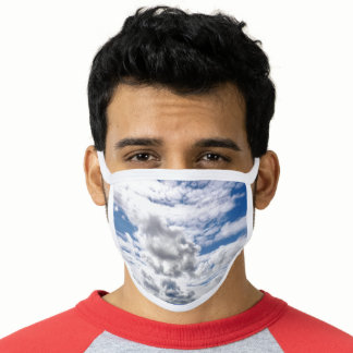 """CLOUDS"" FACE MASK"