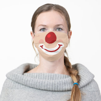 Clown Adult Cloth Face Mask