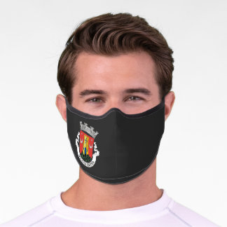 Coat of Arms of Sintra, PORTUGAL Premium Face Mask