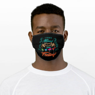 Cocktail Design For The Next Party With Friends Adult Cloth Face Mask