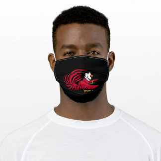 Cocky the Gamecock Adult Cloth Face Mask
