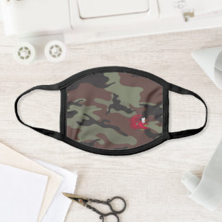 Cocky the Gamecock Camo Pattern Face Mask