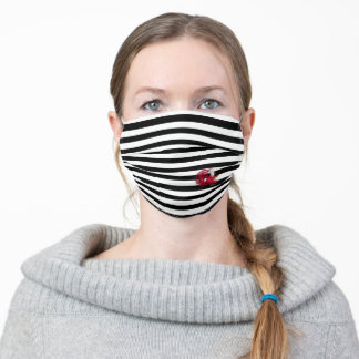 Cocky the Gamecock Stripes Adult Cloth Face Mask