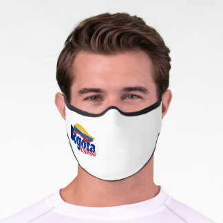 Colombia, Colombian, Bogota, Colombian city, Colom Premium Face Mask