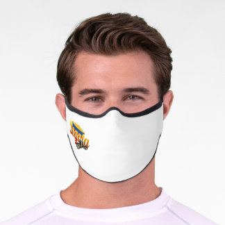 Colombia, Colombian, Bogota, Colombian city Premium Face Mask