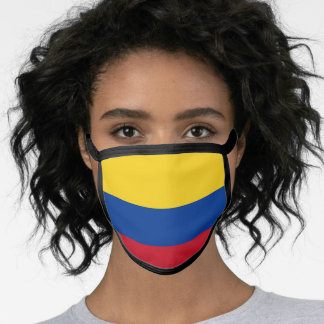 Colombia & Colombian Flag Mask - fashion/sports