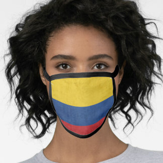 Colombian, Colombia flag, Colombia Bandera, Colom Face Mask