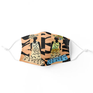 Color My World Fabulous African American Adult Cloth Face Mask