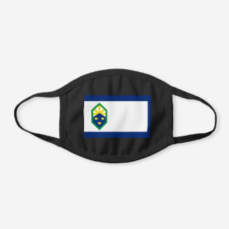 Colorado Springs, Colorado Flag Cotton Face Mask
