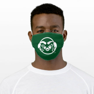 Colorado State University Logo Adult Cloth Face Mask