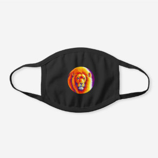 Colorful African Lion Cotton Face Mask