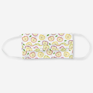 Colorful Apple Pattern Adult Cloth Face Mask