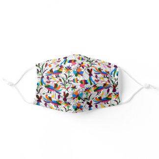Colorful pattern cloth Face Mask