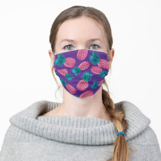 Colorful Pineapples Adult Cloth Face Mask