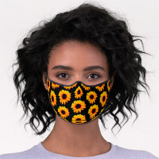 Colorful Sunflowers 4Eve Adult Premium Face Mask