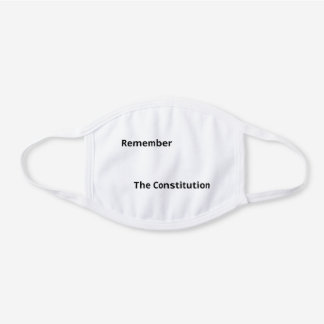 Constitution face mask