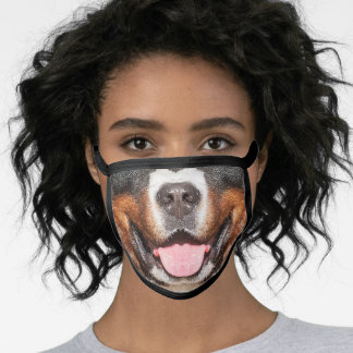 Cool Dog Face Mask - Bernese Mountain Dog