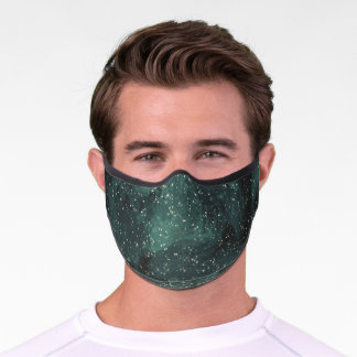 Cool Galaxy Outerspace & Stars Premium Face Mask