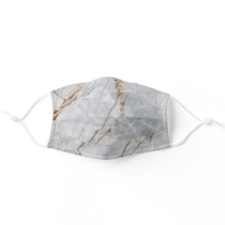 Cool Marble Gold Touch Adult Cloth Face Mask