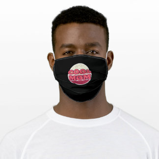 Cool Mom - Best Mom Shirt Adult Cloth Face Mask