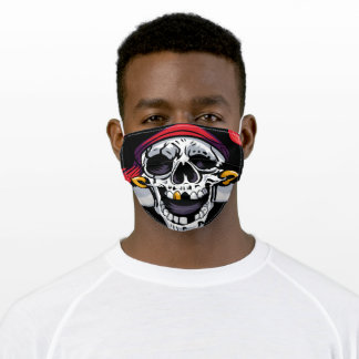 Cool Pirate Skull Face Mask