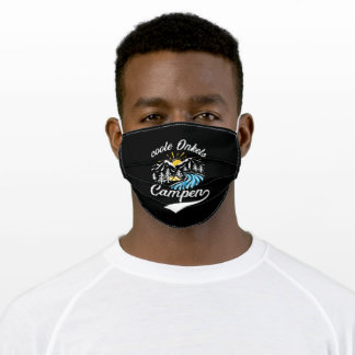 Cool Uncles Camping Adult Cloth Face Mask