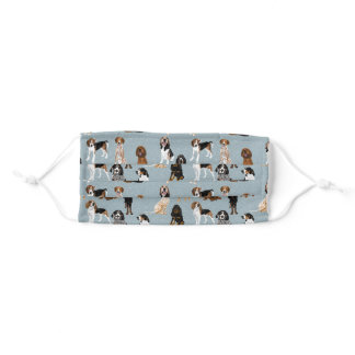 Coonhounds Adult Cloth Face Mask