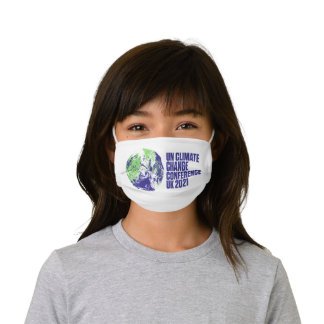COP26 Glasgow Summit Climate Conference UK Kids' Cloth Face Mask