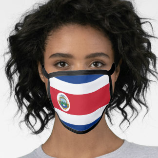 Costa Rican flag Face Mask
