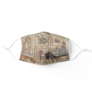 Cosy Corner (by Carl Larsson) Adult Cloth Face Mask