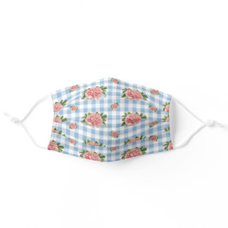 Country Gingham Adult Cloth Face Mask