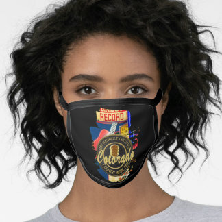 Country Music Fan from Colorado Face Mask