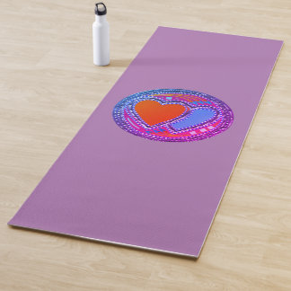 Create your own Stay Safe Love All to Save All Yoga Mat
