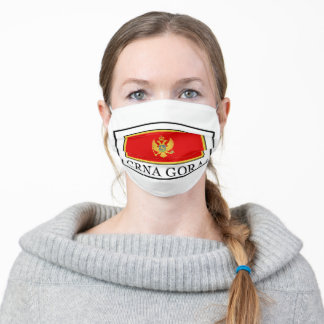 Crna Gora Adult Cloth Face Mask