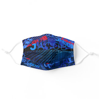 Customizable Replace with Name or Word Adult Cloth Face Mask