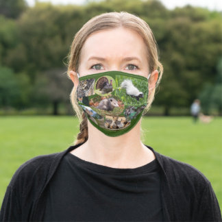 Cute Animals Adult Cloth Face Mask