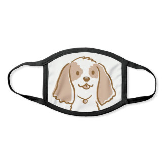 Cute Cartoon Dog | Cocker Spaniel | Pet Lover's Face Mask
