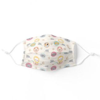 Cute Cat Lady Adult Cloth Face Mask