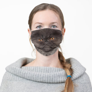 Cute Cat Mouth Nose Adult Cloth Face Mask