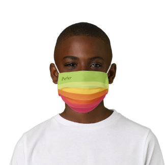 Cute Colorful Design for your Kid's Face Mask