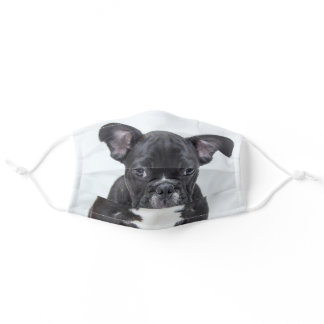 Cute Custom Dog Photo Adult Cloth Face Mask