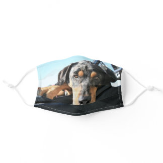 Cute Dog Custom Pet Face Mask