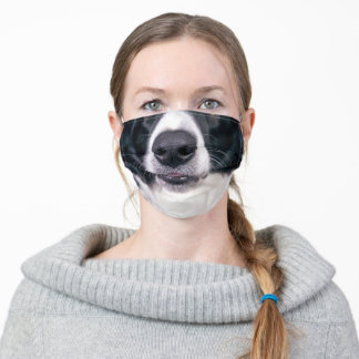 Cute Dog Face Nose For Kids Funny Animal Adult Cloth Face Mask