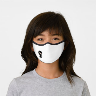 Cute Happy Ninja Premium Face Mask