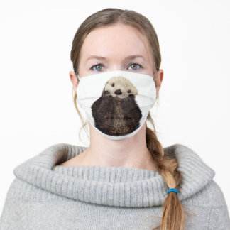 Cute Otter Adorable Animal Adult Cloth Face Mask