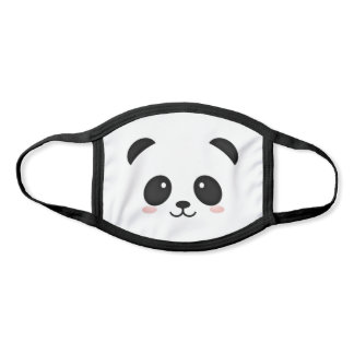 Cute panda bear face mask